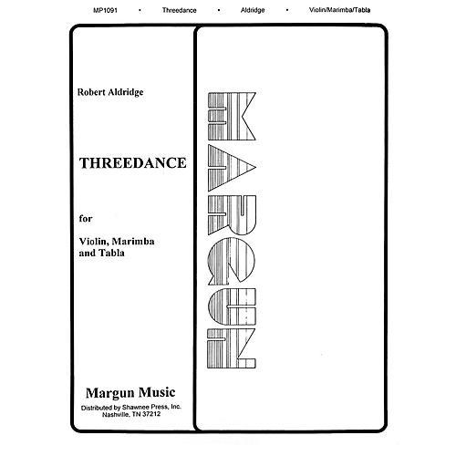Margun Music Threedance Shawnee Press Series by Robert Aldridge-thumbnail