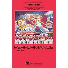 Hal Leonard Thriller Marching Band Level 3-4 by Michael Jackson Arranged by Jay Bocook