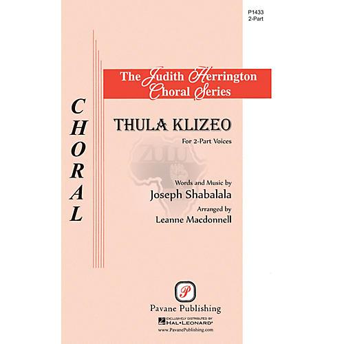 Pavane Thula Klizeo 2-Part arranged by Leanne McDonnell-thumbnail