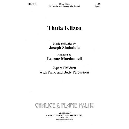 Hal Leonard Thula Klizeo composed by Leanne Macdonell-thumbnail