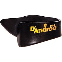 D'Andrea Thumb Picks One Dozen Black Large