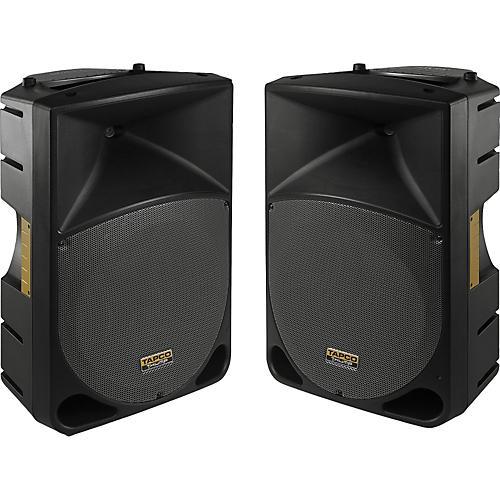 Tapco Thump 15 inch Powered Speaker Pair-thumbnail