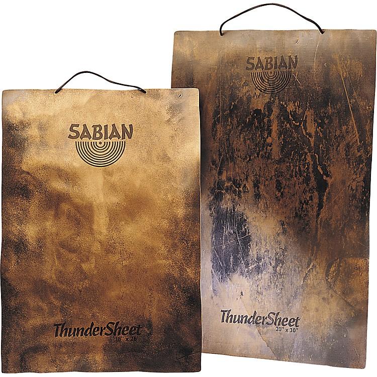 SabianThunderSheets