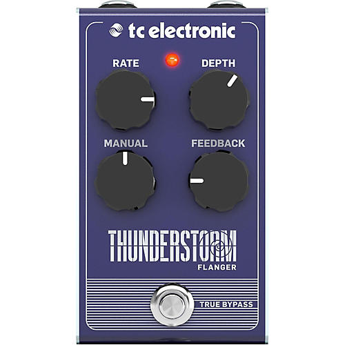 TC Electronic Thunderstorm Flanger Effect Pedal-thumbnail