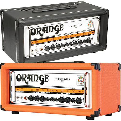 Orange Amplifiers Thunderverb 200 Series TH200HTC 200W Tube Guitar Amp Head-thumbnail