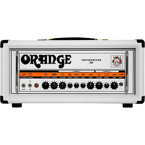 Orange Amplifiers Thunderverb TH200H 200W Tube Guitar Amp Head in Limited Edition White