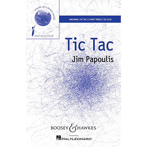 Boosey and Hawkes Tic Tac UNIS/2PT composed by Jim Papoulis-thumbnail