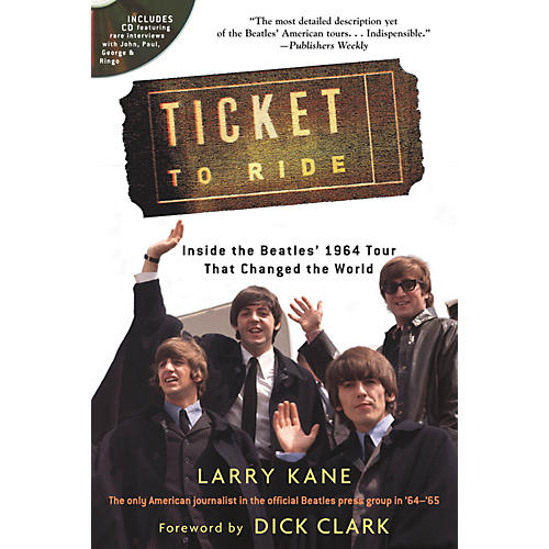 Backbeat Books Ticket to Ride Book Series Softcover with CD Written by Larry Kane-thumbnail