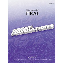 Curnow Music Tikal (Grade 0.5 - Score Only) Concert Band Level .5 Composed by Mike Hannickel