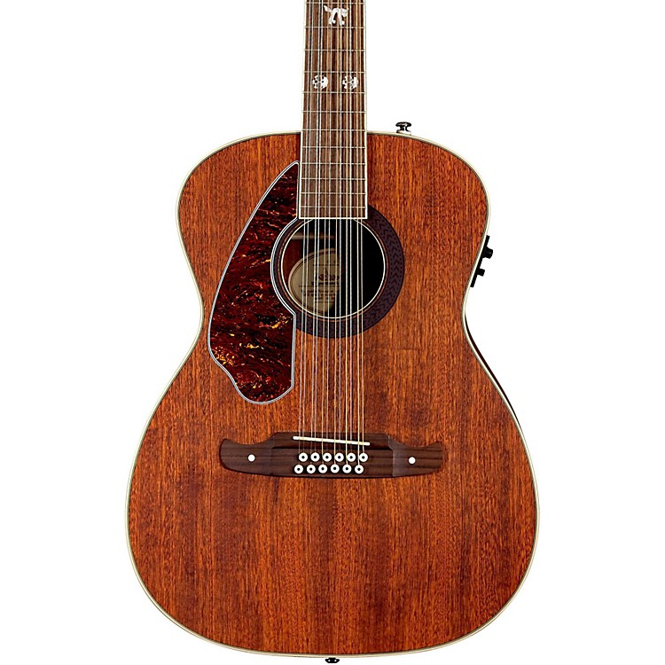 Fender Tim Armstrong Left-Handed Hellcat 12-String Acoustic-Electric Guitar Natural