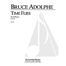 Lauren Keiser Music Publishing Time Flies (14 Players, Full Score) LKM Music Series by Bruce Adolphe