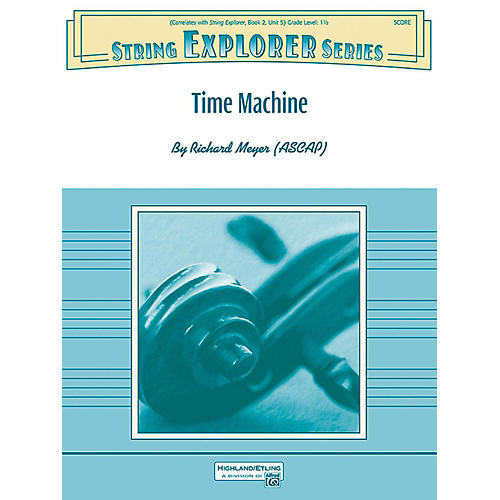 Alfred Time Machine String Orchestra Grade 1.5-thumbnail