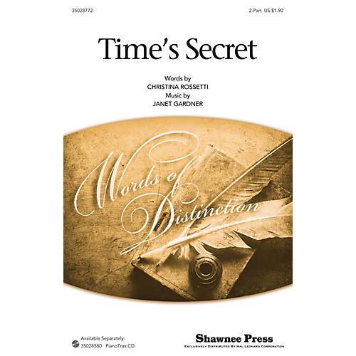 Shawnee Press Time's Secret 2-Part arranged by Janet Gardner-thumbnail