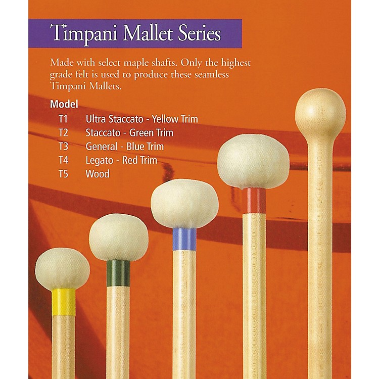 Mike Balter Timpani Mallets T1 Ultra Staccato