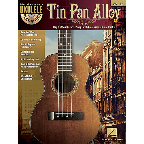 Hal Leonard Tin Pan Alley (Ukulele Play-Along Volume 27) Ukulele Play-Along Series Softcover with CD