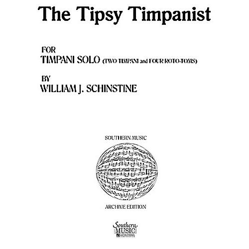 Hal Leonard Tipsy Tympanist (Percussion Music/Timpani - Other Musi) Southern Music Series Composed by Spears, Jared-thumbnail