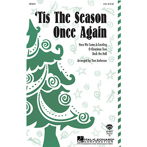 Hal Leonard 'Tis the Season Once Again ShowTrax CD