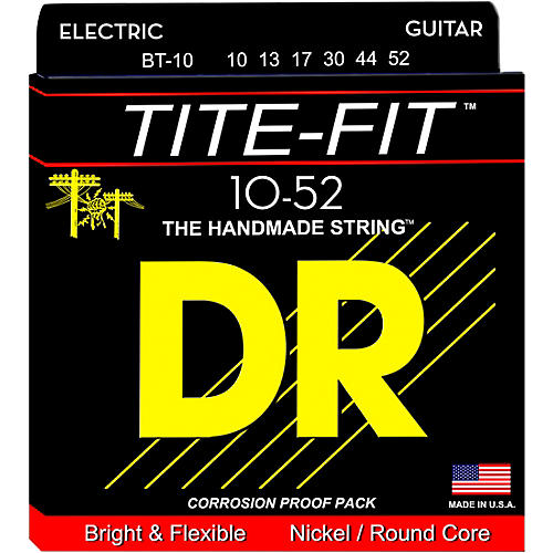 DR Strings Tite-Fit BT-10 Big-n-Heavy Electric Guitar Strings