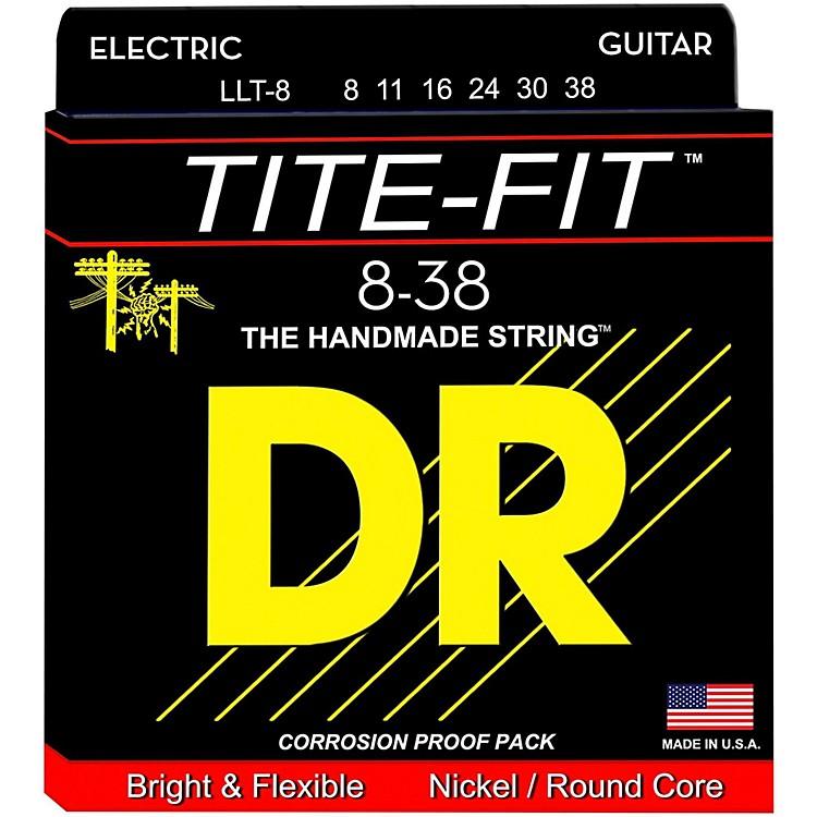 DR StringsTite-Fit LLT-8 Lite-Lite Nickel Plated Electric Guitar Strings