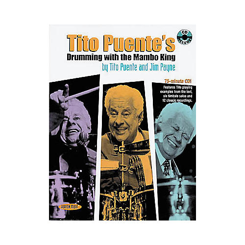 Hal Leonard Tito Puente's Drumming with the Mambo King Book/CD-thumbnail