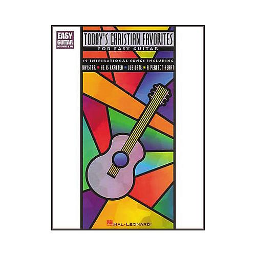 Hal Leonard Today's Christian Favorites for Easy Guitar Book-thumbnail
