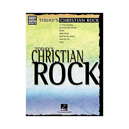 Hal Leonard Today's Christian Rock Easy Guitar Tab Book-thumbnail