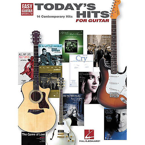 Hal Leonard Today's Hits for Easy Guitar Tab Songbook