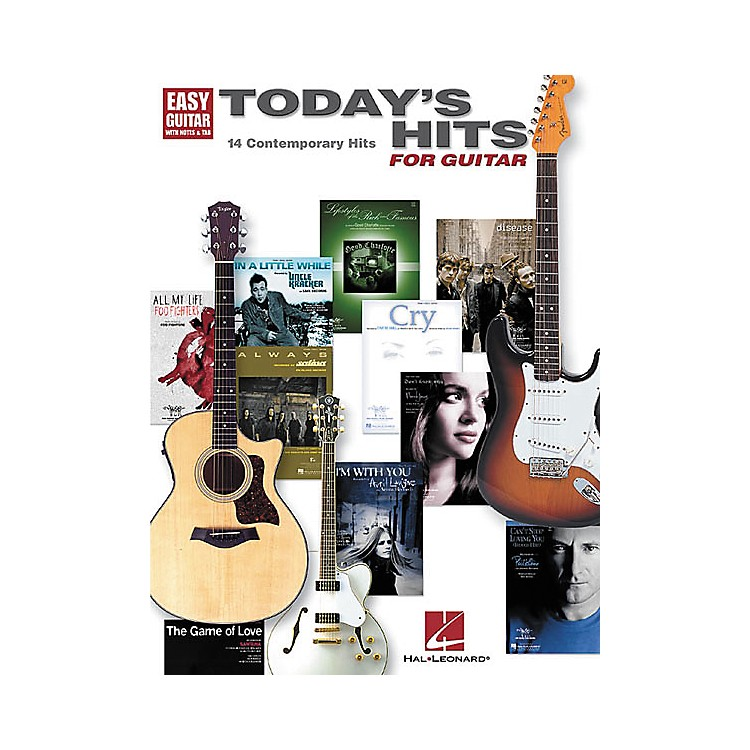 Hal LeonardToday's Hits for Easy Guitar Tab Songbook