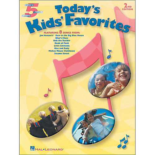 Hal Leonard Today's Kids' Favorites for Five Finger Piano-thumbnail