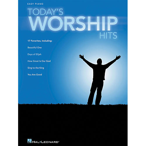 Hal Leonard Today's Worship Hits For Easy Piano