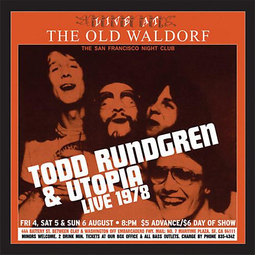 Alliance Todd Rundgren & Utopia - Live At The Old Waldorf