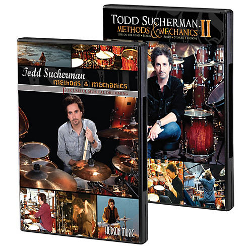 Hudson Music Todd Sucherman - Methods & Mechanics Complete DVD Set DVD Series DVD Performed by Todd Sucherman-thumbnail