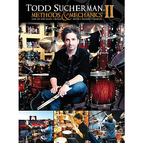 Hudson Music Todd Sucherman Methods & Mechanics II 2-DVD Set