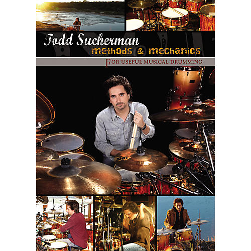 Hudson Music Todd Sucherman: Methods and Mechanics (2-DVD Set)