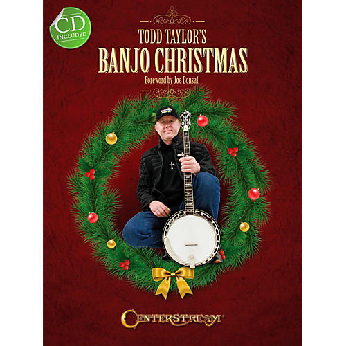 Centerstream Publishing Todd Taylor's Banjo Christmas (Book/CD)-thumbnail