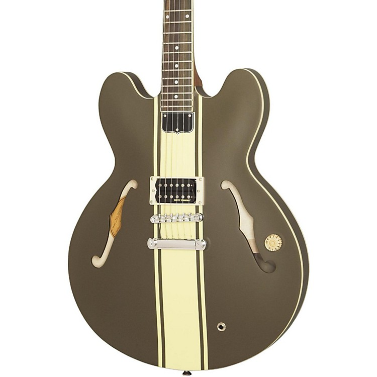 Epiphone Tom Delonge Signature ES-333 Semi-Hollow Electric Guitar Brown Stripe