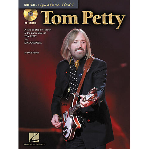 Hal Leonard Tom Petty - Guitar Signature Licks (Book/CD)