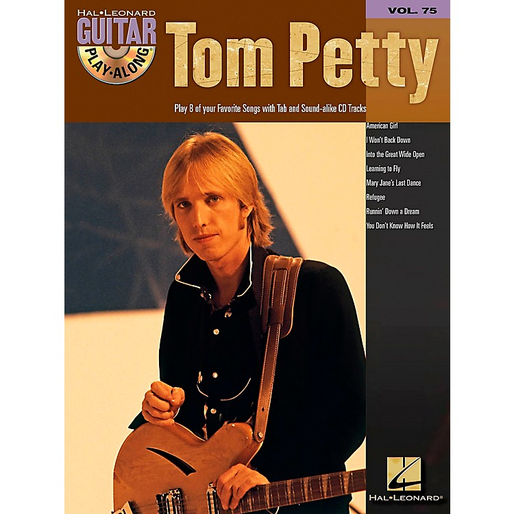 Hal Leonard Tom Petty Guitar Play-Along Series (Book/CD)