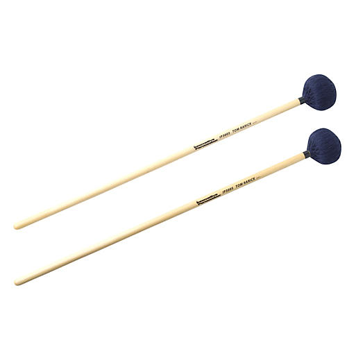 Innovative Percussion Tom Rarick Soft Marimba Mallets Navy Cord Birch Handles