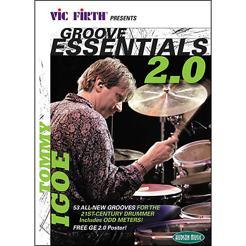 Hudson Music Tommy Igoe Groove Essentials 2.0 Book/CD/DVD Play-Along with Stick for Guitar Center