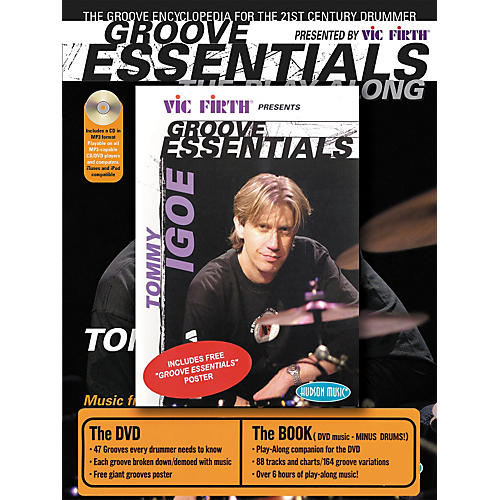 Hudson Music Tommy Igoe Groove Essentials (Book/Online Audio/DVD Combo Pack)-thumbnail