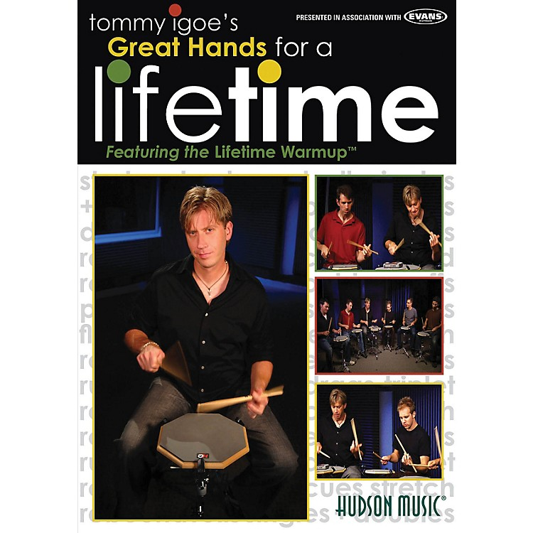 Hudson Music Tommy Igoe's Great Hands for a Lifetime DVD