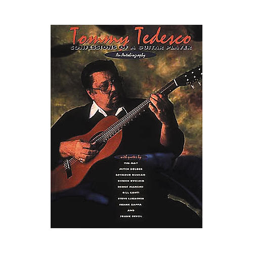 Centerstream Publishing Tommy Tedesco - Confessions of a Guitar Player Book-thumbnail