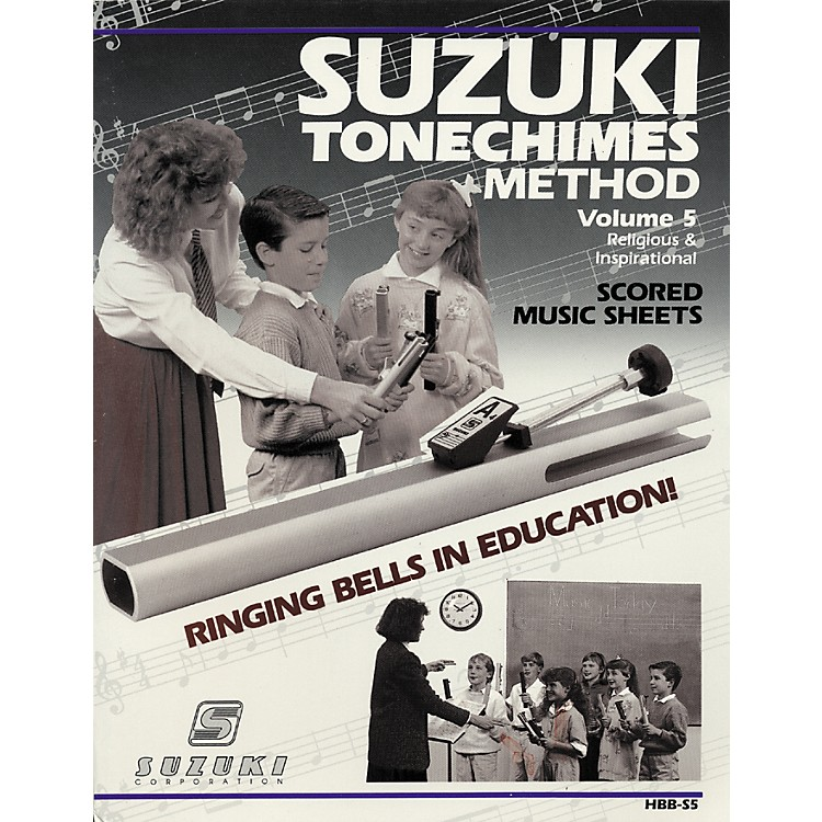 Suzuki Tone Chimes Volume 5 Religious and Inspirational