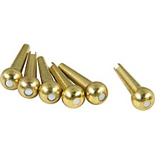 D'Andrea Tone Pins Brass Bridge Pin Set
