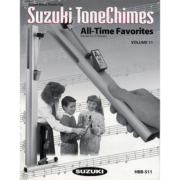 Suzuki ToneChimes Music Books Volume 6 to 13 Volume 6 Folk