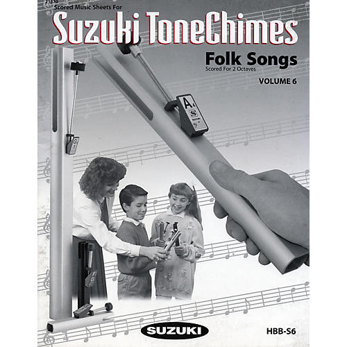 Suzuki ToneChimes Music Books Volume 6 to 13-thumbnail