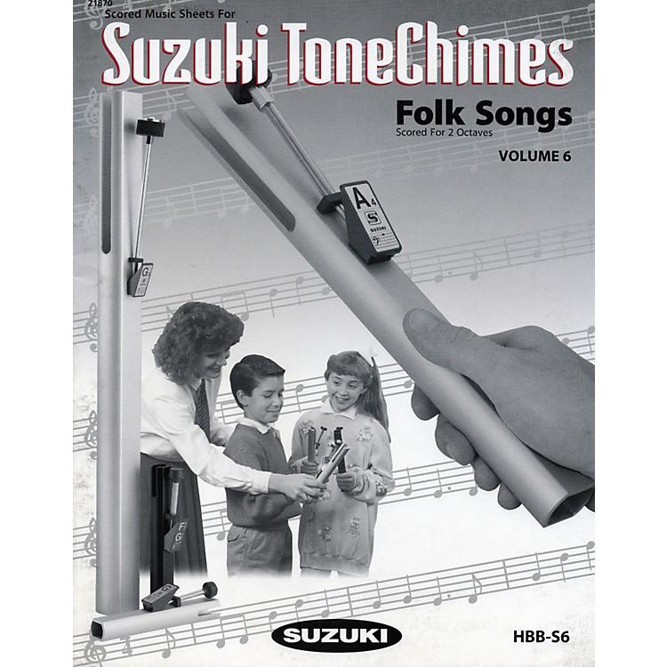 SuzukiToneChimes Music Books Volume 6 to 13Volume 6 Folk