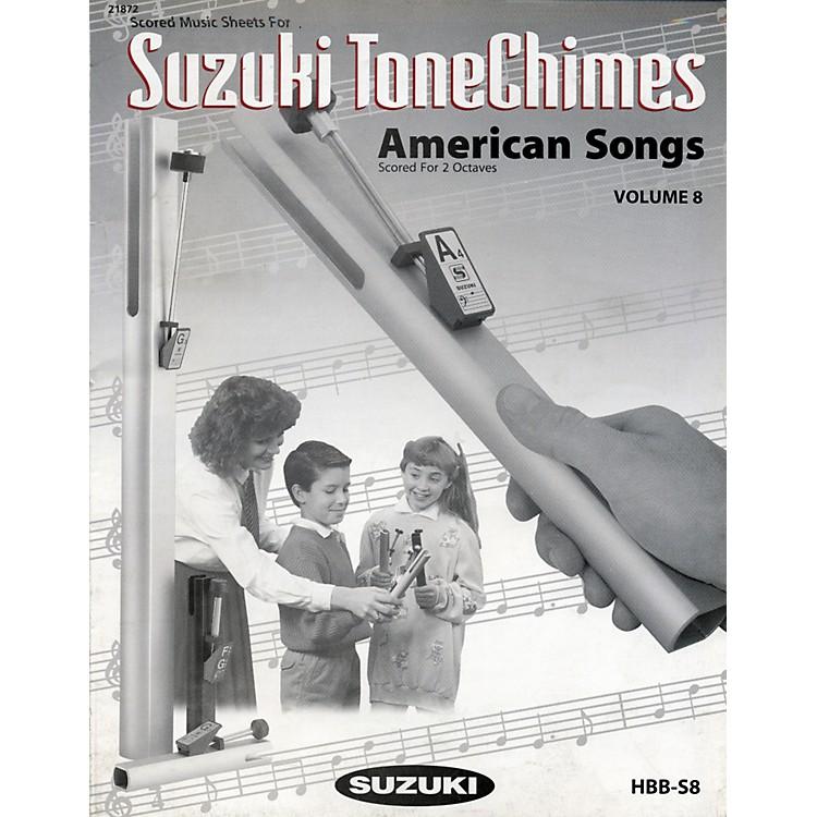 SuzukiToneChimes Music Books Volume 6 to 13Volume 8 American Song
