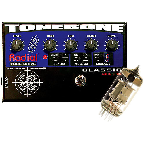 Radial Engineering Tonebone Classic Tube Distortion Pedal